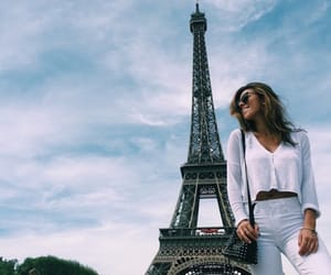 chic, eiffel tower, and mode image