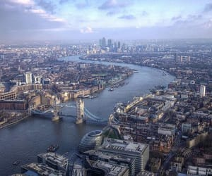 city, london, and europe image