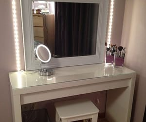 decor, vanity, and home image