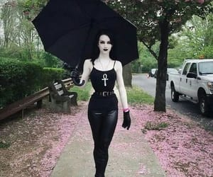 goth, pale, and pretty image