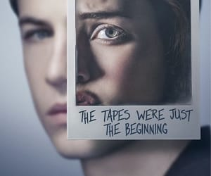 clay jensen, tapes, and 13 reasons why image