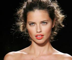 Adriana Lima, girl, and vintage image