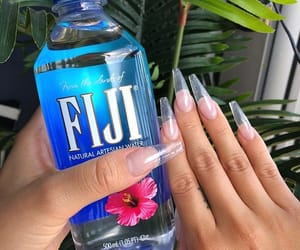 nails and water image