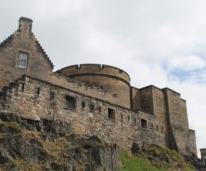 castle, edinburgh, and scotland image