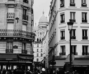 aesthetic, black and white, and city image