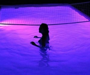 purple, pool, and neon image