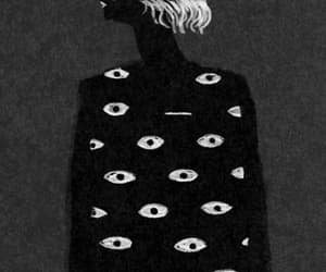 eyes, gif, and art image
