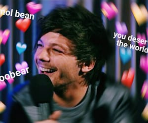 memes, 1d, and louis tomlinson image