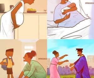amor, mama, and mom and son image