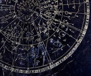 aesthetic, astrology, and blue image