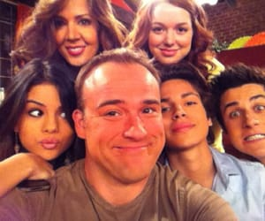 selena gomez, david henrie, and wizards of waverly place image