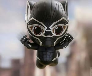 attack, Avengers, and black panther image