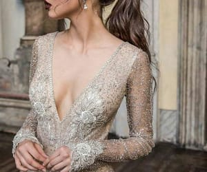 bride, fashion, and gown image