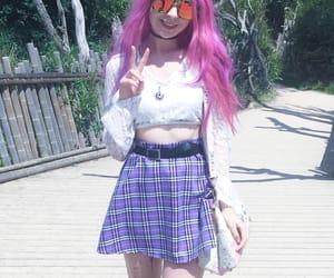 alternative, hair, and skirt image
