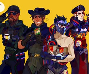 reaper, moira, and gabriel reyes image