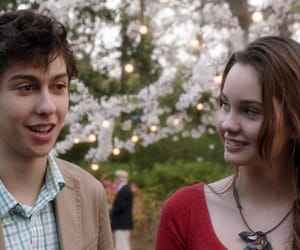 nat wolff, stuck in love, and liana liberato image