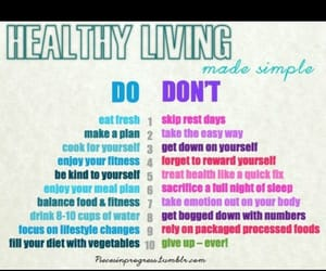 do, food, and health image