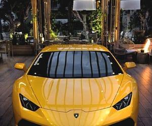 car, Lamborghini, and yellow image
