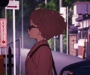 gif, anime, and anime girl image