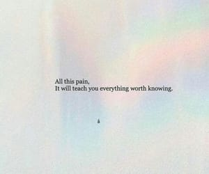 quotes, tumblr, and pain image