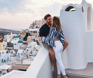 love, couple, and Greece image