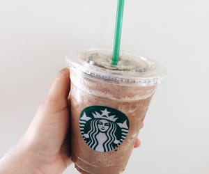 chip, chocolate, and frappuccino image