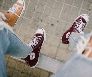 converse, fashion, and friendship image