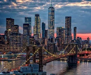city, nyc, and view image