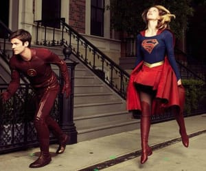 DC, Supergirl, and the flash image