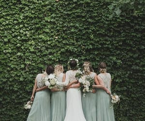 bridesmaids, idea, and photography image