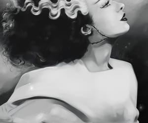 Bride of Frankenstein, classic, and horror image
