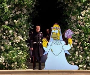 memes, royal wedding, and homero simpson image