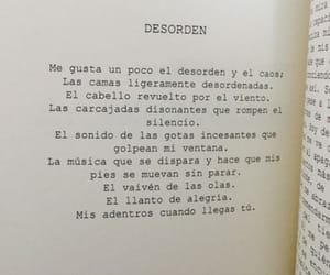 frases, desorden, and book image