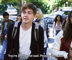 13 reasons why, sad, and miles heizer image
