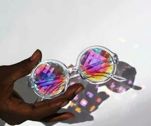 fashion, girls, and sunglasses image