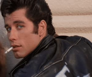 grease, John Travolta, and gif image