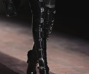 boots, fashion, and Moschino image