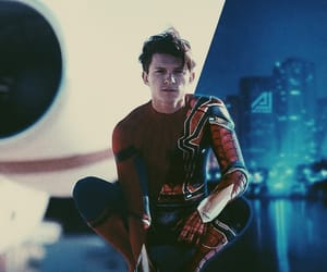 Marvel, spider-man, and tom holland image