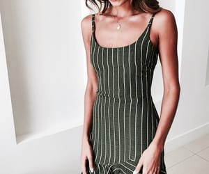 girl, indie, and dress image