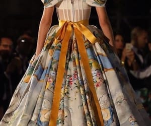 dolce and gabbana, haute couture, and dress image