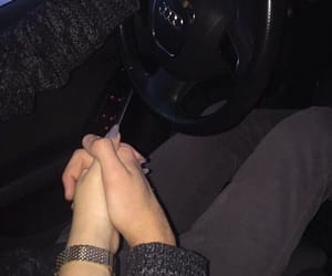 aww, holding hands, and so cute image