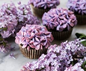 comida, cupcakes, and flores image