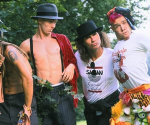 90's, guitarist, and hat image