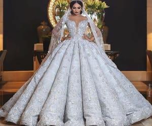 bride, look, and wedding image