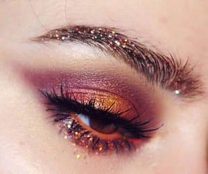 beauty, eye makeup, and eyes image