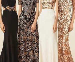 black, bridesmaid, and desing image