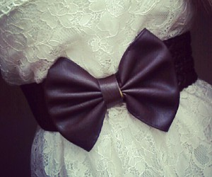 belt, bows, and brown image