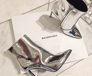 asian, Balenciaga, and heels image