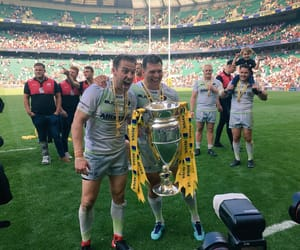 champions, saracens, and england rugby image