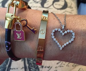 bracelet, cartier, and fashion image